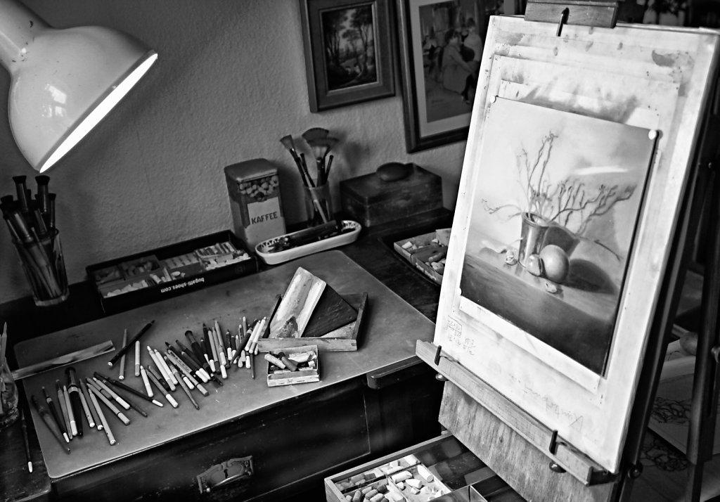 Die Zeichnerin